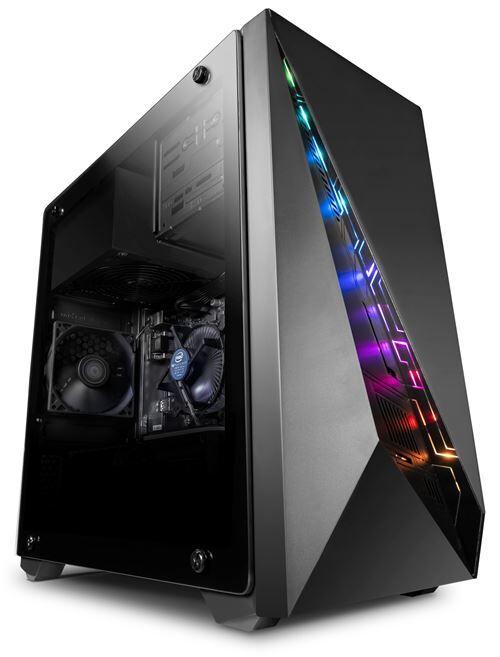 Vibox BX- 9 PC Gamer Ordinateur avec 2 Jeux Gratuits, Windows 10 Pro OS (4,0GHz AMD Ryzen Quad-Core Processeur , Graphiques Radeon Vega Intégrés, 8GB DDR4 2400MHz RAM, 1TB HDD) - Ordinateur - Unité centrale