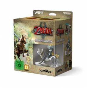 Nintendo The Legend of Zelda Twilight Princess HD + Amiibo The Legend of Zelda Link Loup + CD Audio - Nintendo Wii U