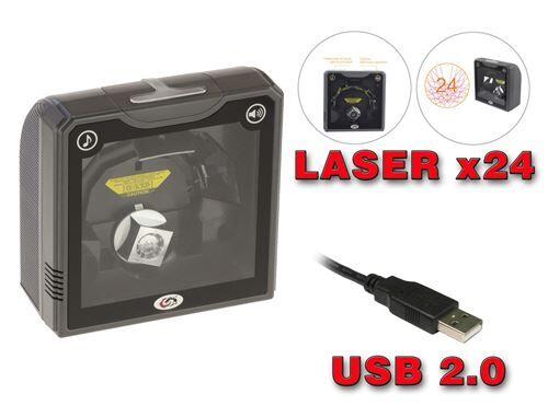 Non communiqué Scanner Omnidirectionnel XL2024. 24 Lignes Laser Haute performance : 1620 scans/s ! - Autres
