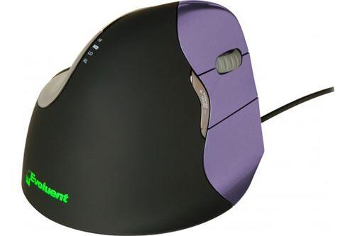 souris verticale usb 6 boutons noire mouse 4 petite taille - droitier - souris