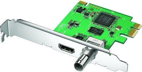 Non communiqué Blackmagic Design DeckLink Mini Recorder Interne PCIe carte d'acquisition vidéo - cartes d'acquisition vidéo (NTSC,PAL, 1080i,1080p,720p, 48 kHz, 57 g) - Autres