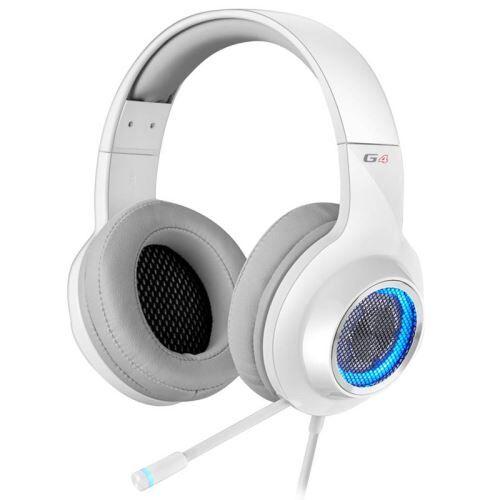 edifier g4 binaural bandeau blanc casque audio - casques audio (pc/jeux, 7.1 canaux, binaural, bandeau, blanc, avec fil) - casque pc