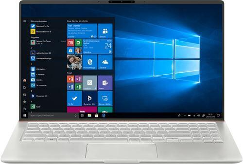 """Asus Ordinateur / PC Portable ASUS Zenbook 15 UX533FN-A8034RB - Core i5 8265U / 1.6 GHz - Win 10 Pro - 8 Go RAM - 256 Go SSD NVMe - 15.6"""" IPS 1920 x 1080 (Full HD) - GF MX150 - 802.11ac, Bluetooth - argent glaçon - Ordinateur portable"""