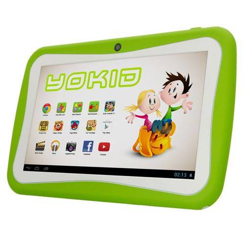 yonis tablette tactile 7' jouet numérique enfant android lollipop quad core 12go verte - yonis - tablettes éducatives