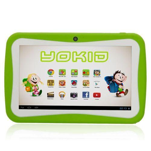 yonis tablette tactile 7' jouet numérique enfant android lollipop quad core 16go verte - yonis - tablettes éducatives