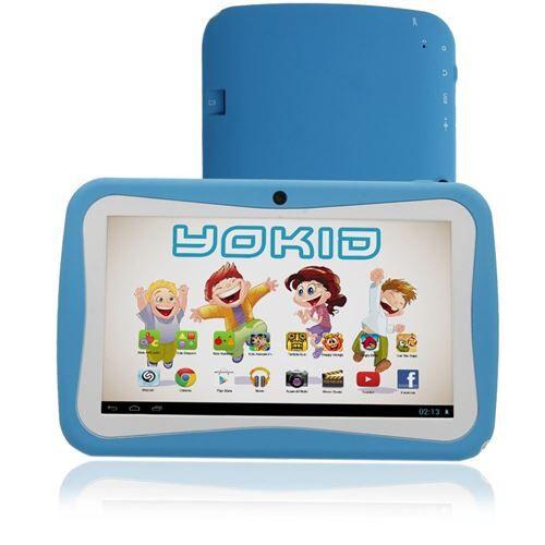 yonis tablette tactile 7' jouet numérique enfant android lollipop quad core 12go bleue - yonis - tablettes éducatives