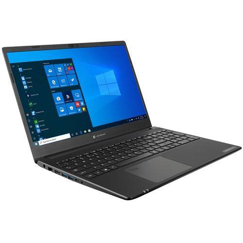 "Dynabook Toshiba Satellite Pro L50-G-17P - Core i7 10510U / 1.8 GHz - Win 10 Pro 64 bits - 16 Go RAM - 256 Go SSD + 1.024 To HDD - 15.6"" 1920 x 1080 (Full HD) - UHD Graphics - Bluetooth, Wi-Fi - noir structuré - Ordinateur portable"