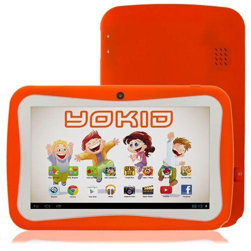 yonis tablette tactile 7' jouet numérique enfant android lolipop quad core 40go orange - yonis - tablettes éducatives