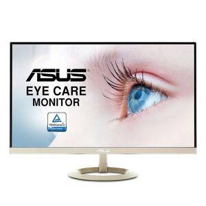 """ASUS VZ27AQ - Écran LED - 27"""" - 2560 x 1440 WQHD - IPS - 250 cd/m² - 1000:1 - 5 ms - HDMI, VGA, DisplayPort - haut-parleurs - noir, or glaçon - Ecran PC"""