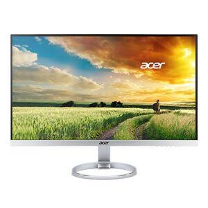 """Acer H277HK - Écran LED - 27"""" - 3840 x 2160 4K UHD (2160p) - IPS - 350 cd/m² - 4 ms - HDMI, DisplayPort - haut-parleurs - blanc, argent - Ecran PC"""