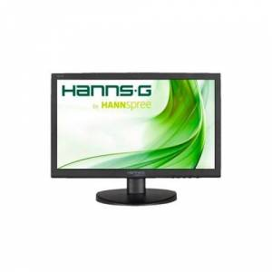 "Hannspree HANNS.G HE196APB - Écran LED - 18.5"" - 1366 x 768 - 200 cd/m² - 600:1 - 5 ms - VGA - haut-parleurs - noir - Ecran PC"