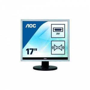 "AOC Ecran PC LED multimedia 17"" (43,18 cm) 1280x1024 5:4 - Ecran PC"