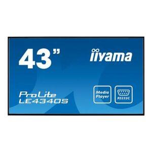 """Iiyama ProLite LE4340S-B1 43"""" écran DEL - Ecran PC"""