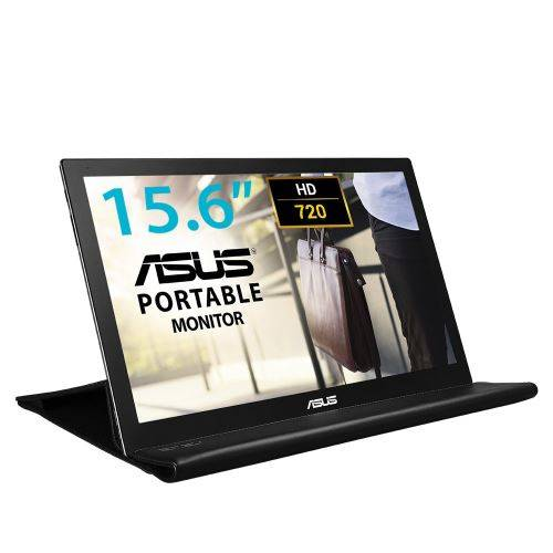 Asus MB168B - Ecran PC Portable 15,6 - Alimentation et Affichage via USB Type-A - Dalle TN - 1366 x 768 - PS4 Raspberry Pi Xbox - Ecran PC