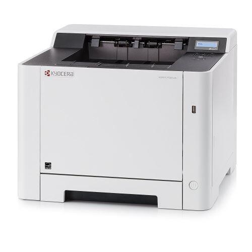 Kyocera Imprimante laser A4 Kyocera Ecosys P5021cdn   Couleur et noir/blanc   Imprime jusqu'à 21 pages par minute   Impression via Smartphone et tablette - Imprimante laser couleur