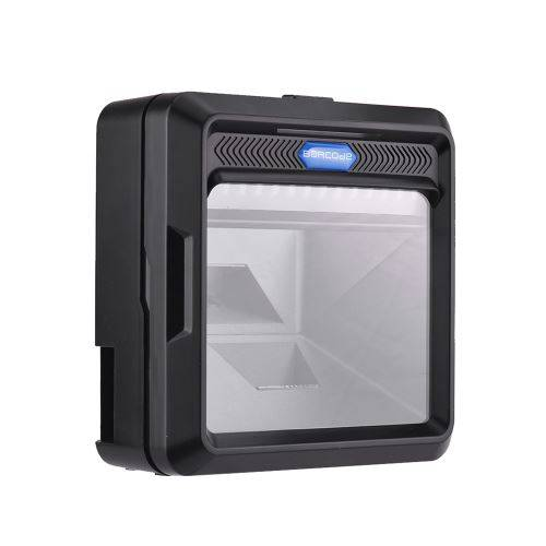 Docooler Scanner de Code à Barres Automatique Numérisation Haute Vitesse à Code QR 2D 1D pour L'entrepôt de Supermarché - Scanner portable
