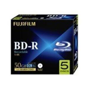 FUJIFILM Full Printable Inkjet - BD-R DL x 5 - 50 Go - support de stockage - Autres