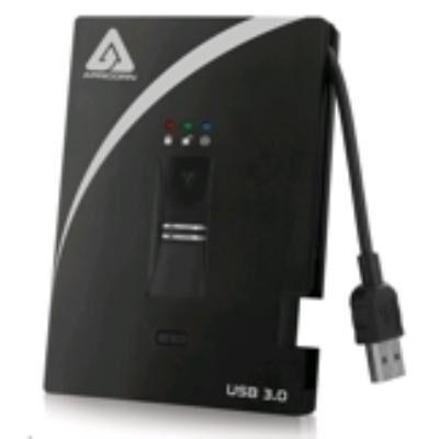 Apricorn Aegis Bio A25-3BIO256-500 - Disque dur - 500 Go - externe (portable) - USB 3.0 - 5400 tours/min - mémoire tampon : 8 Mo - FIPS 197 - Disque dur externe