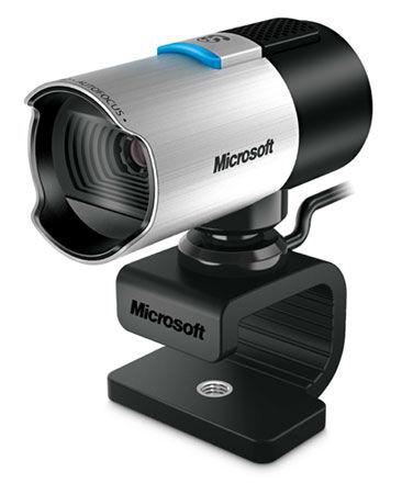 ms webcam full hd 1080p microsoft lifecam studio hd q2f-00009 gris/noir - webcam