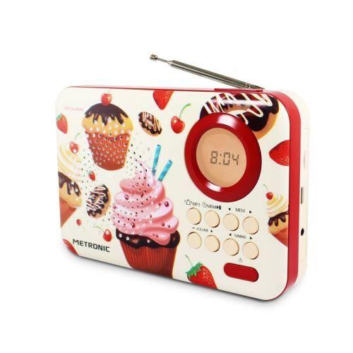 Metronic Radio CupCake Metronic - 477219-O - Radio