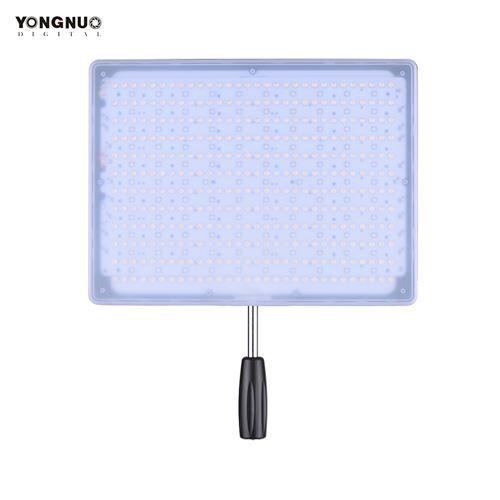 YONGNUO YN600 RVB professionnel 5500K + RGB LED vidéo doux léger Slim & léger Design lumineux CRI≥95 luminosité réglable avec télécommande Support éclairage de Studio APP Remote Control - Accessoire photo