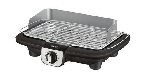 Tefal Barbecue électrique Tefal BG90A810 Easygrill Adjust Inox 2300 W Noir - Barbecue