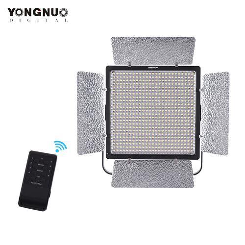 YONGNUO YN860 3200K-5500K Lampe de contrôle vidéo LED bicolore avec éclairage de remplissage Luminosité de réglage Luminosité réglable CRI 95+ avec filtres CT Prise en charge de la télécommande Contrôle de la télécommande APP - Filtre photo