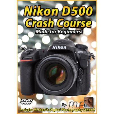 Michael the Maven DVD: Nikon D500 Crash Course - Accessoire photo