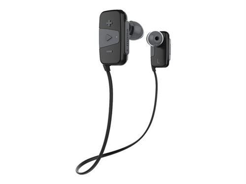 Non communiqué JAM Transit Mini - Écouteurs avec micro - intra-auriculaire - montage sur l'oreille - Bluetooth - sans fil - gris - Ecouteurs