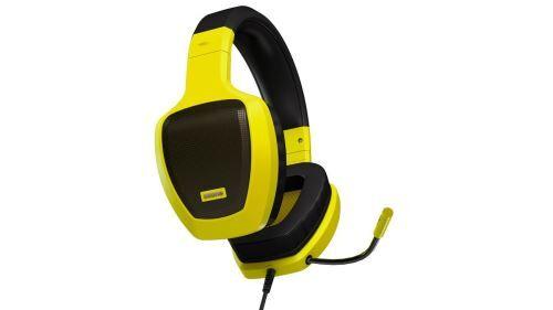 ozone 'ozone rage z50 binaural filaire noir, jaune casque avec microphone – Écouteurs avec microphone (avec fil, 3.5 mm (1/8), pc/jeux, circumaural, fermé, 20 – 20000 hz) - casque pc