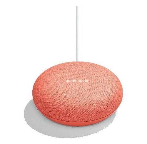google home mini assistant vocal corail - enceinte intelligente