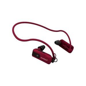 Sunstech TRITON - Lecteur numérique serre-tête - 4 Go - rouge - Baladeur MP3 / MP4