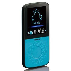 Lenco Podo-153 - Lecteur numérique - 4 Go - bleu - Baladeur MP3 / MP4