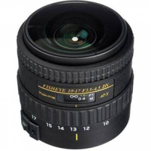 Tokina AT-X 10-17mm f/3.5-4.5 No Hood (Canon) (Objectifs) - Zoom