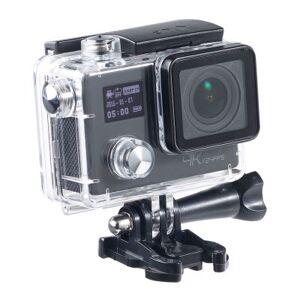 SOMIKON Caméra sport 4K UHD avec 2 écrans et capteur Sony 16 Mpx - Caméra sport