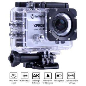 TECTECTEC XPRO2 ARGENT: Caméra Sport Ultra HD 4K Wifi avec Photo 16 Mp - Caméra sport