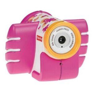 FISHER PRICE Mattel - t5158 - fisher price - camera video - antichoc - rose - Jeux d'éveil
