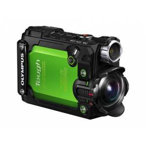 OLYM Action Cam Olympus Stylus TG-Tracker Vert - Caméra sport