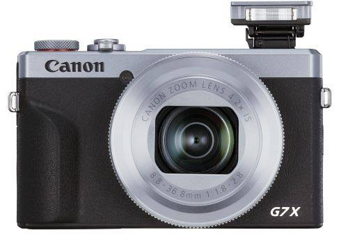 canon compact canon powershot g7x mark iii argent - appareil photo compact