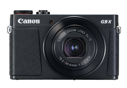 canon compact canon powershot g9 x mark ii noir - appareil photo compact