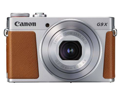 canon compact canon powershot g9 x mark ii argent - appareil photo compact