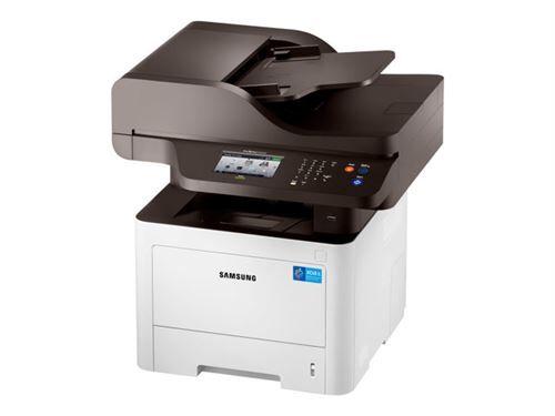 hp samsung proxpress sl-m4075fx - imprimante multifonctions - noir et blanc - laser - legal (216 x 356 mm) (original) - a4/legal (support) - jusqu'à 40 ppm (copie) - jusqu'à 40 ppm (impression) - 300 feuilles - 33.6 kbits/s - usb 2.0, gigabit lan,