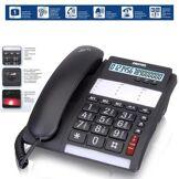 Switel Téléphone grandes touches avec alerte d'appel par led lumière Switel - Téléphone filaire