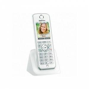 AVM Téléphone Sans Fil Fritz! Fon C4 Blanc - Téléphone sans fil