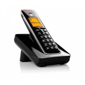 Non communiqué Motorola Dect Cd201 Solo Black Seniors - Téléphone sans fil
