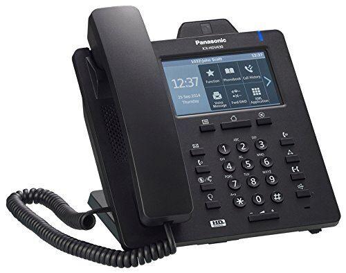Panasonic KX-HDV430 - Visiophone IP - avec Interface Bluetooth - SIP - 16 lignes - noir - Téléphone VoIP
