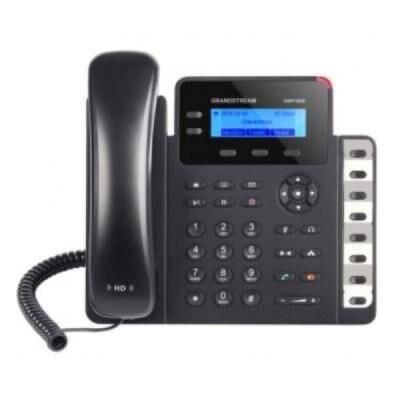 Grandstream GXP1628 Téléphone. IP 2 lignes 2xGigabit PoE - Téléphone filaire