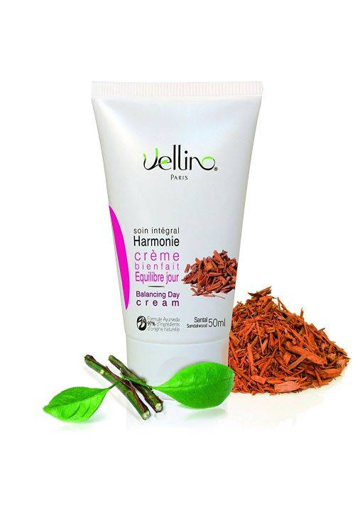 Non communiqué Vellino Crème bienfait équilibre jour au bois de santal 50 ml - Bain/shampoing