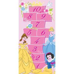 Walt Disney Tapis enfant - Princesses royal - rose 80x160 cm en Polypropylène - Tapis enfant
