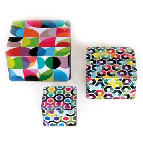 Remember Kit de boîtes en fer blanc classico - multicolore - Boîtes de conservation